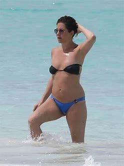 Jennifer aniston black bikini thong