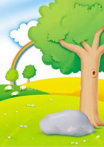Dibujos De Paisajes Infantiles Para Imprimir Paisajes Para Recrear Cuentos Que Les Gustan A Los Mas Ninos Paisa Drawing For Kids Painting For Kids Kids Poems