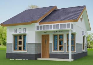 Ini Desain Rumah Minimalis Dengan Biaya 50 Juta Cocok Untuk
