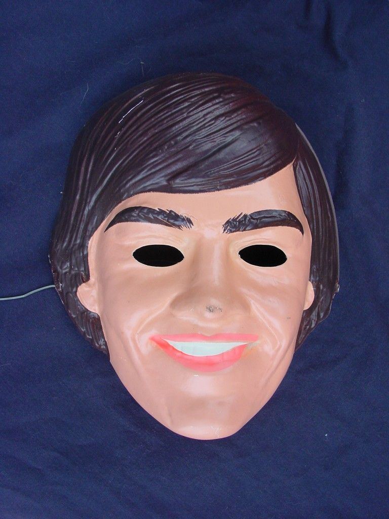 Davy Jones (Monkees) Halloween Costume Mask | Music | Pinterest ...