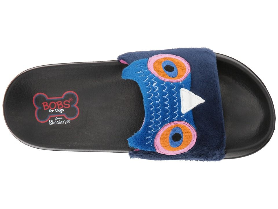 c498f170295 BOBS from SKECHERS 2nd Take - Faux Fun Women's Slide Shoes Navy ...