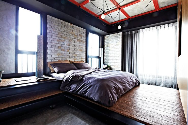 7 Standout Bedrooms That Will Inspire You! Cool RoomsIndustrial ChicBedroom  ...