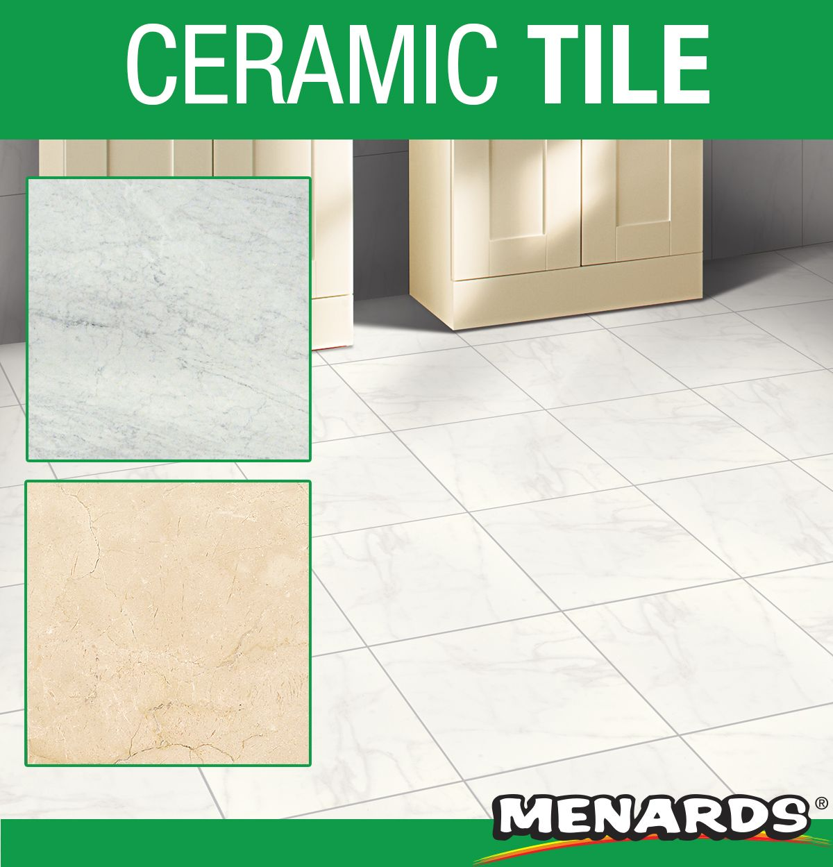 Add the look of a natural marble to your home with this