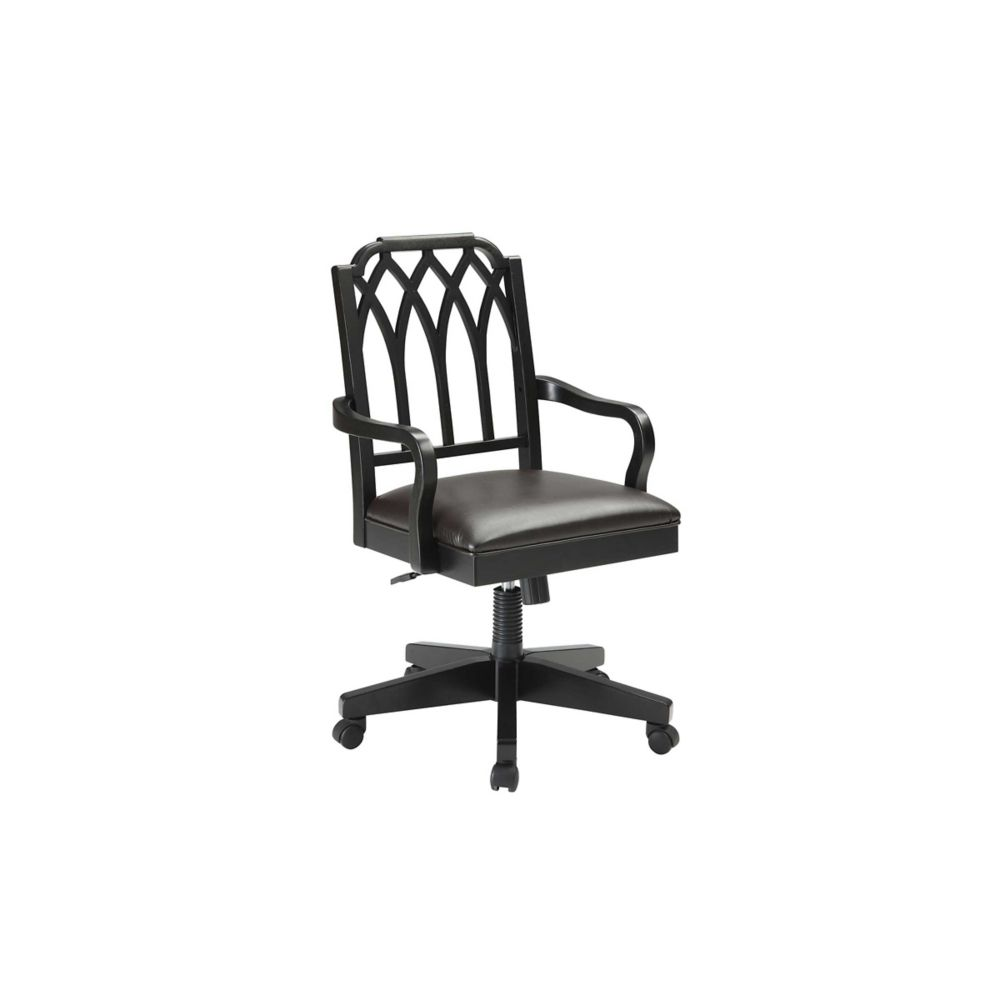 Filigree Wood Office Chair Bankers Chair Wood Office Chair Chair