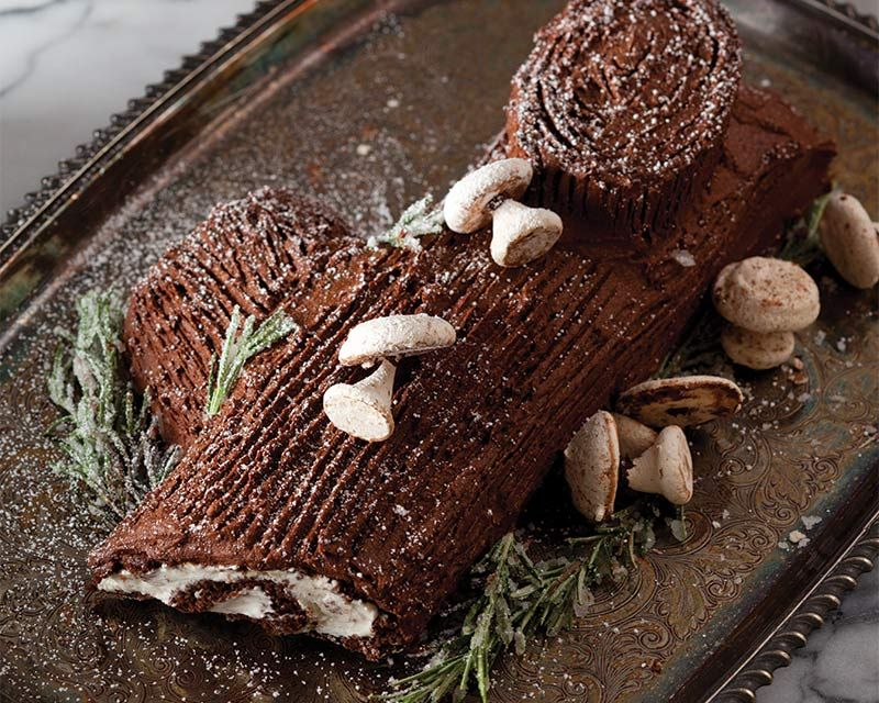 Classic Bûche de Noël - Bake from Scratch