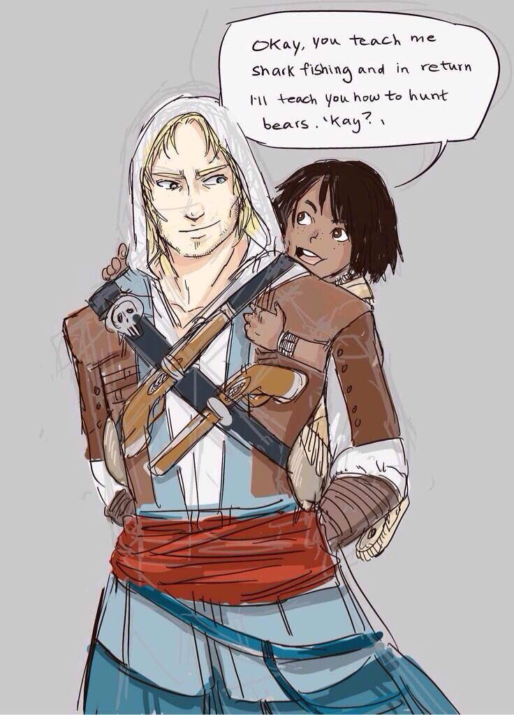 Connor And Haytham Fanfiction *CRIES FOREVER*...