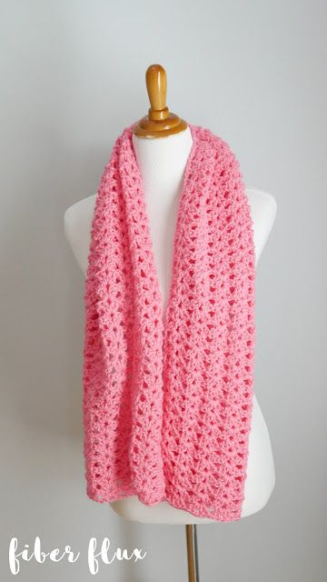 Free Crochet Pattern...Think Pink Friendship Shawl!