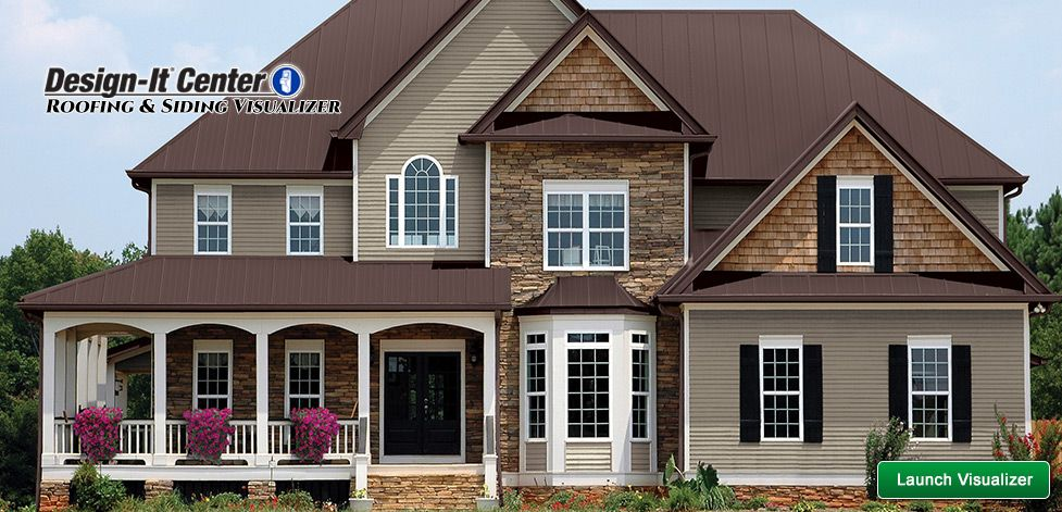 Best Roofing Siding Visualizer At Menards® Roof Siding 400 x 300
