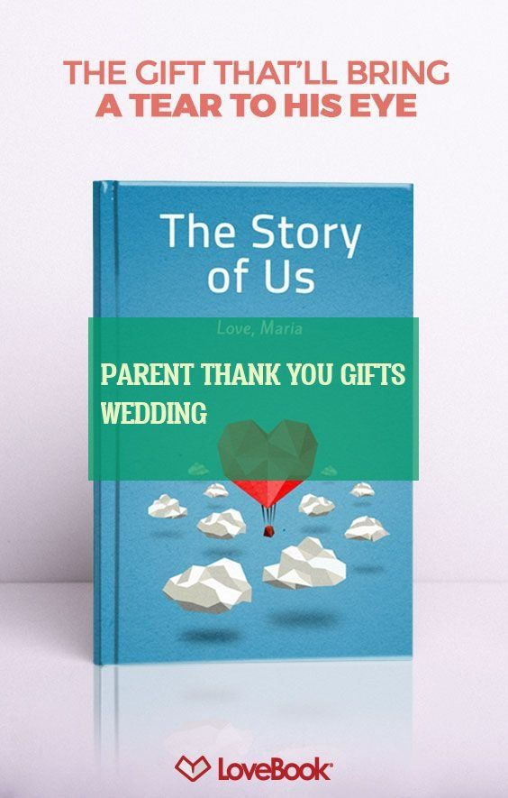 parent thank you gifts wedding
