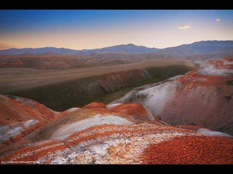 Азербайджан Хызы Красные горы Azerbaijan Xızı Red mountains - YouTube
