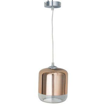 Suspension Design Myrta verre cuivre 1 x 60 W INSPIRE