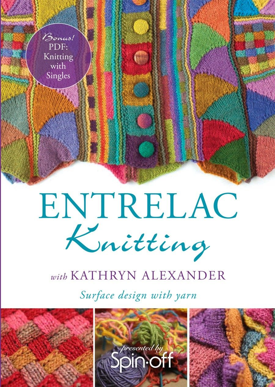 Learn entrelac knitting techniques with Kathryn Alexander ...