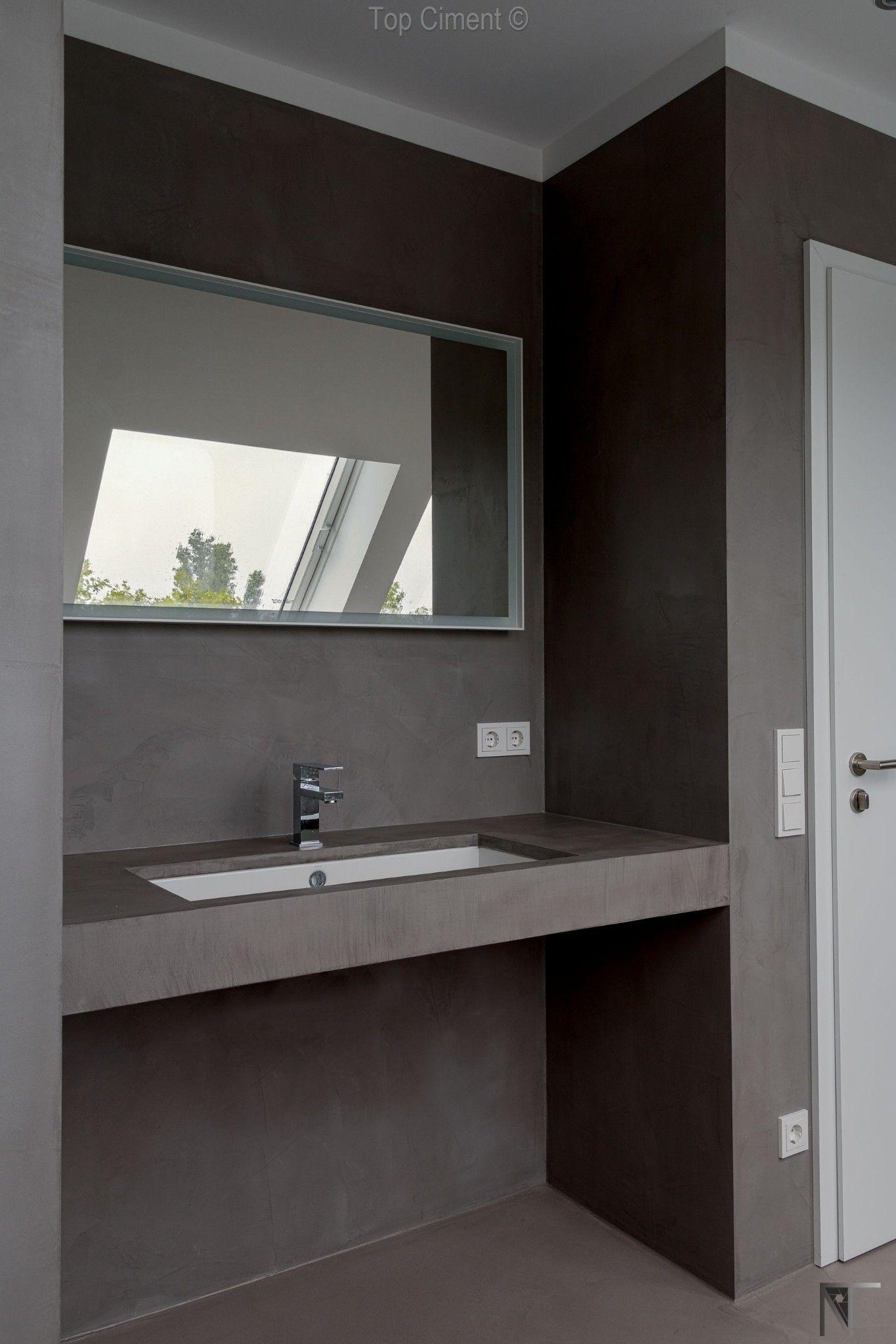 Topciment, el suelo ideal para un baño sin azulejos Apartamento ...