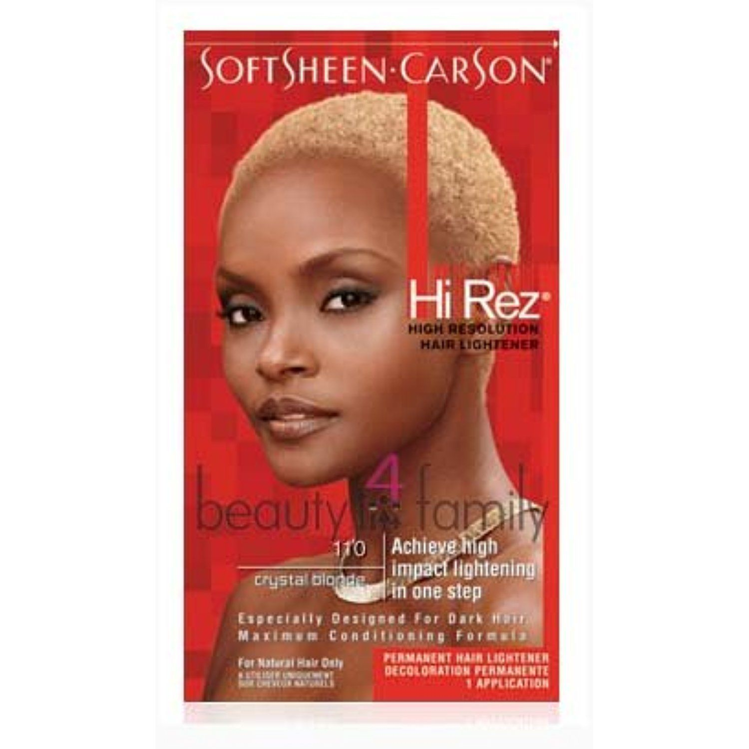 Soft Sheen Carson Hi Rez Hair Color Crystal Blonde Want To Know