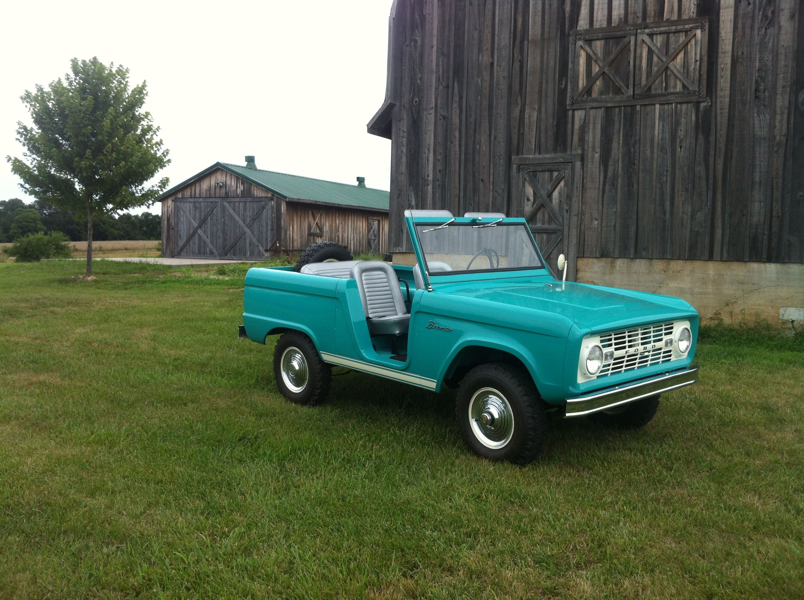 1966 Bronco Roadster U13 August 1965 Build Very Low Early Production Number Ford Bronco Classic Bronco Bronco