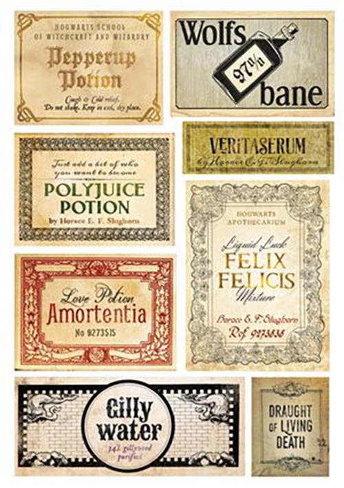 image regarding Harry Potter Potion Labels Printable named Do it yourself Harry Potter Potion Bottles for Birthday + Totally free