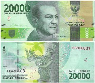 World Bank Notes & Coins : 20000 Indonesian Rupiah | World