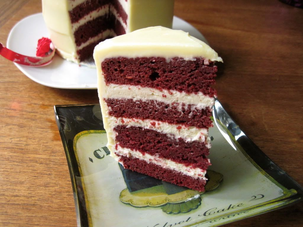 Beet Red Velvet Cake- red color comes from roasted beets NOT ...
