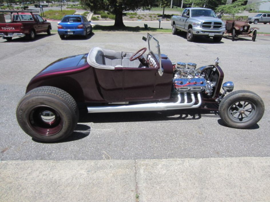 927 Ford Model T Roadster Hemi Hot Rod. Vin # DMV43800CA. This car ...