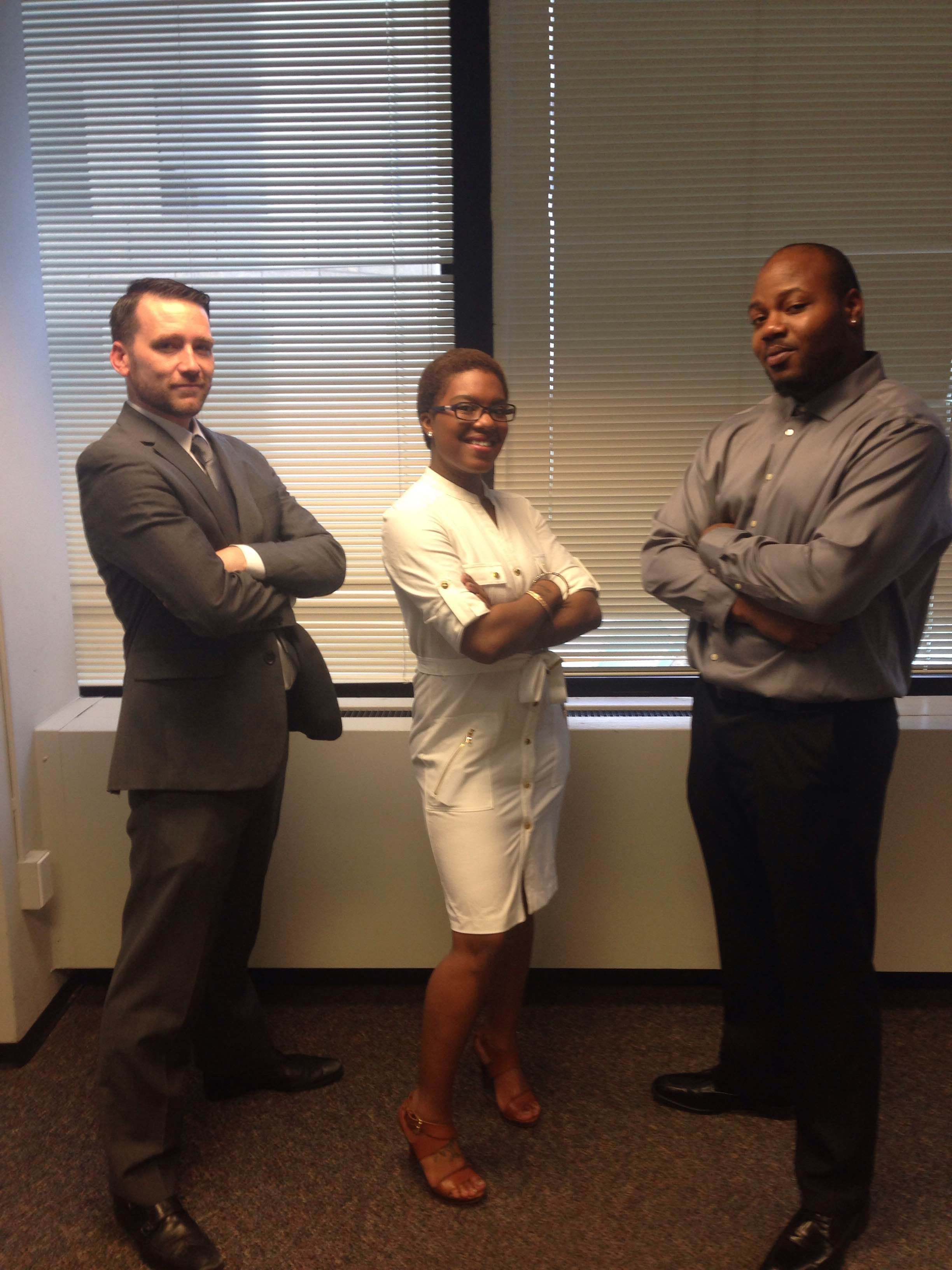 This crew is hot, hot, hot!  A huge congratulations to  Josh, Erica, and Dwayne for finishing last week in the top 30 out of almost 1,000 reps nationwide!  Great work!