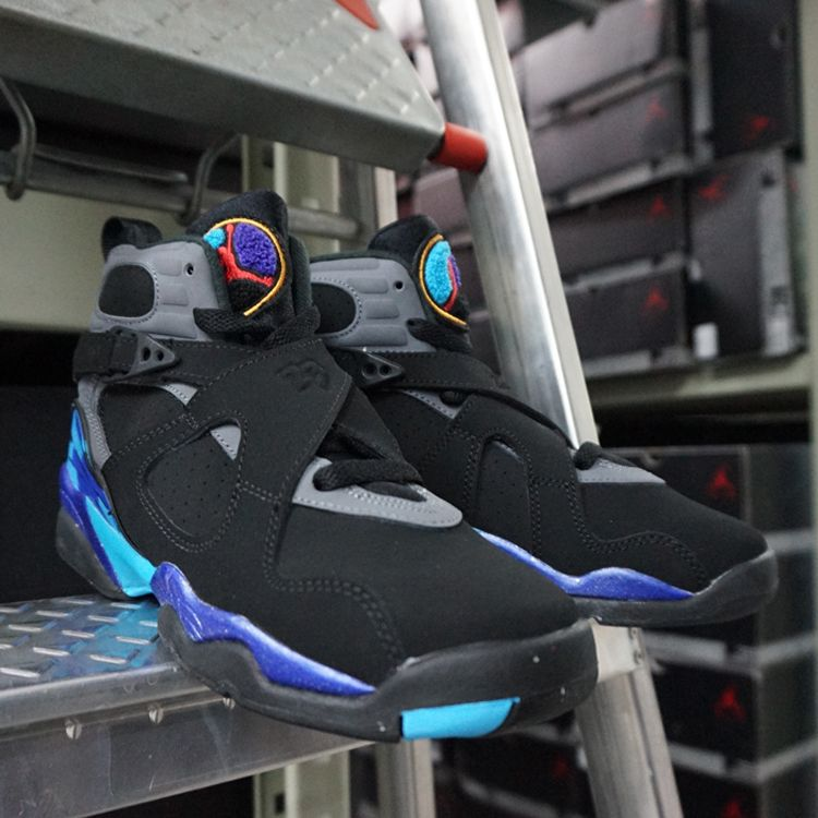 Nike Air Jordan 8 Retro BG Aqua (305368-025) https://