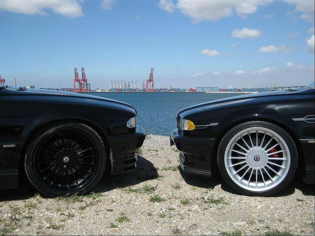 1956 chevy tattoo submited images pic2fly - Bmw E38 Black Vs Silver Alpina Softilne 20