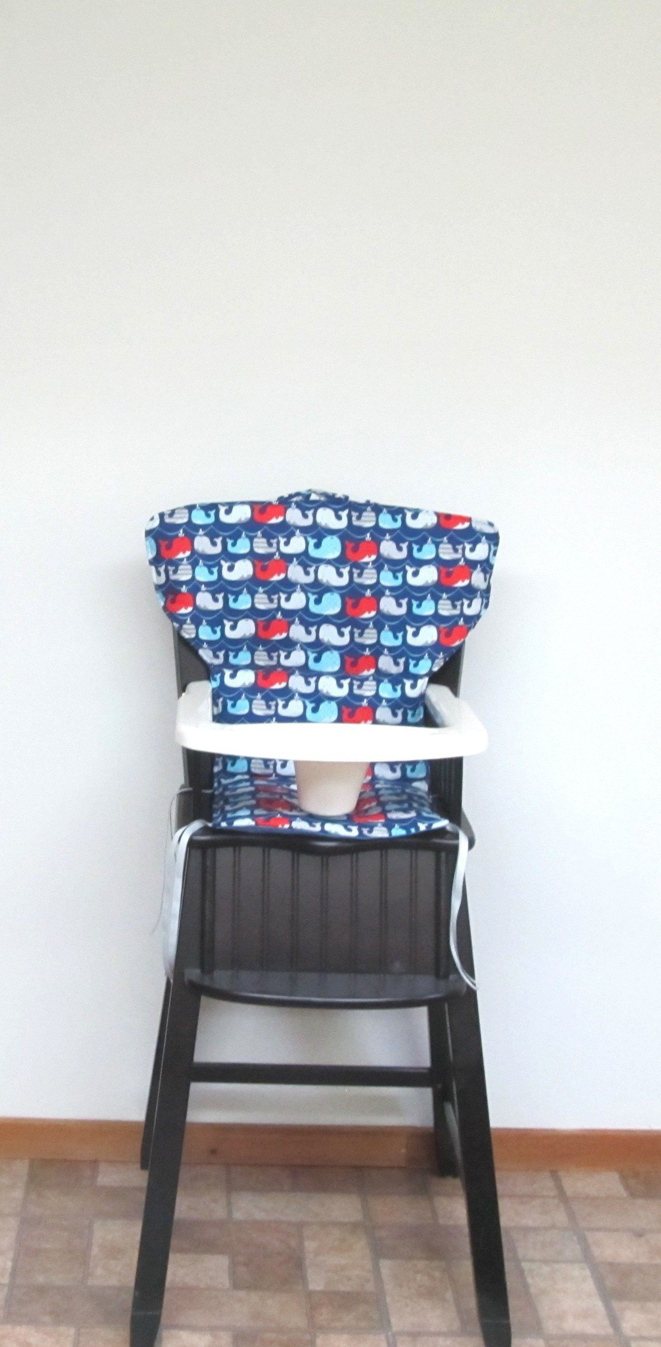 Eddie Bauer Newport or safety 1st wooden high chair cover