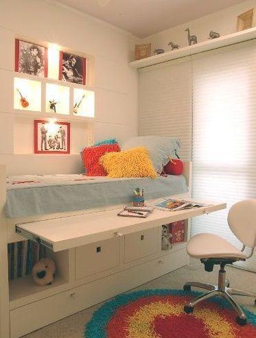 Habitaciones infantiles peque as aprovecha todo el - Habitaciones infantiles pequenos espacios ...
