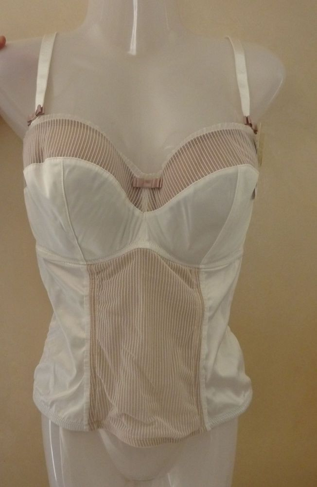 df502ed63 Corset femme Bustier sexy Blanc TAILLE 95F