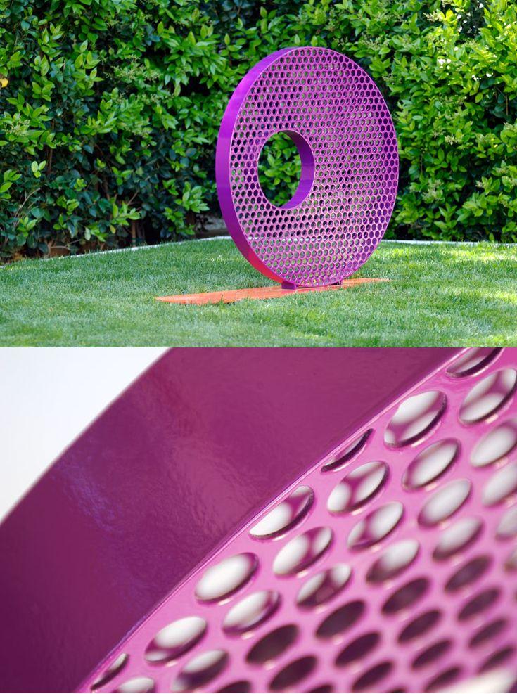 Verita - Powercoated Steel Outdoor Art Sculpture in 2018 Forest
