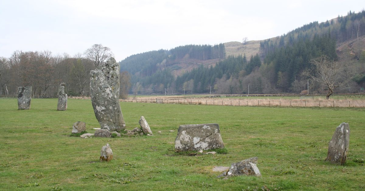 TRAVEL write Robin McKelvie takes a look at potential time-travelling spots across Scotland.