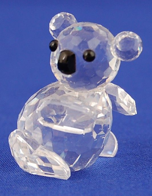 f4eabab385e3 Details about Vintage SWAROVSKI CRYSTAL KOALA BEAR MIB Figurine w ...
