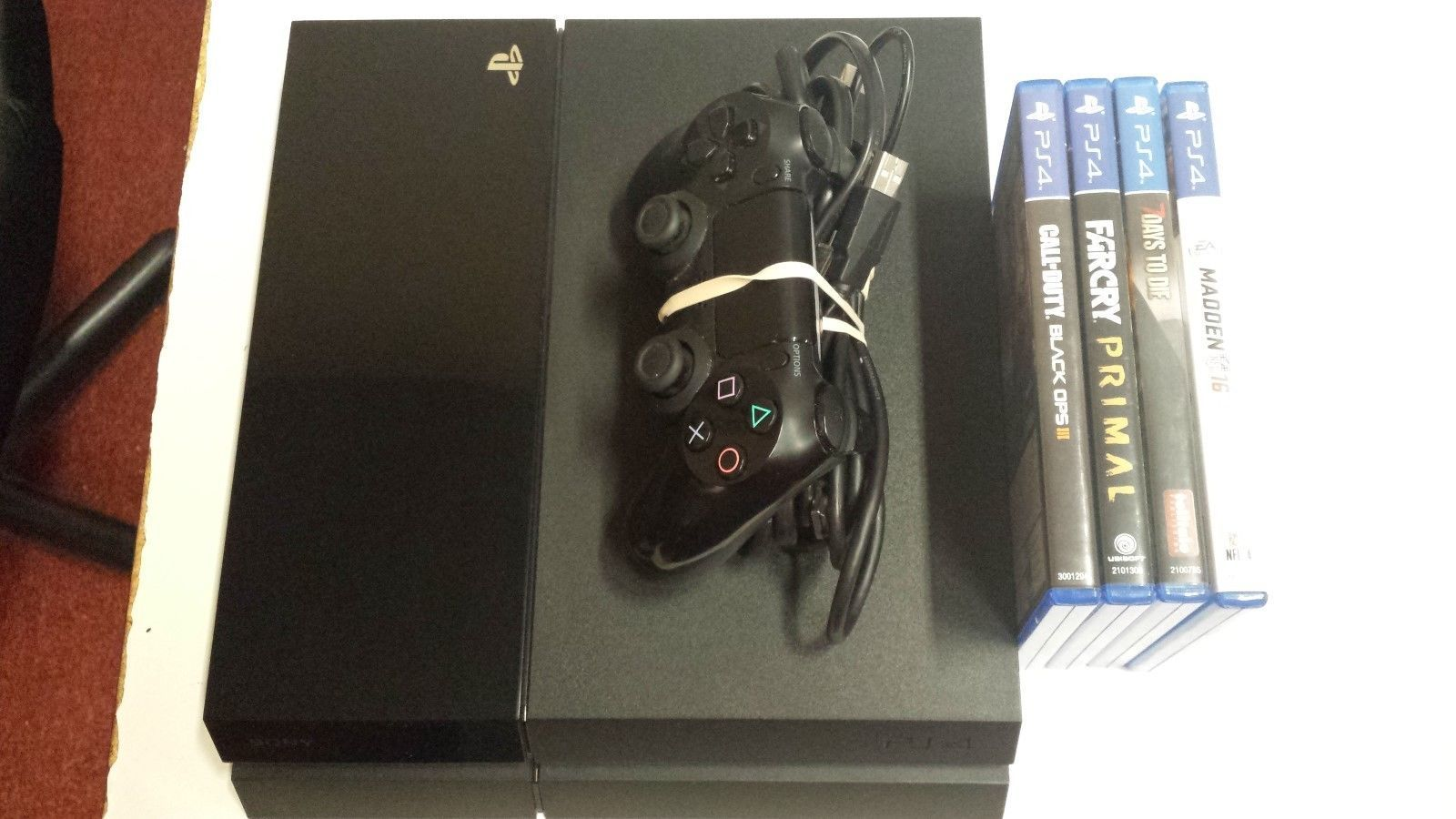 Sony Playstation 4 500GB Gaming Console System CUH-1115A https://t.co/84PL4mGcgz https://t.co/Chbc0W3Zg7
