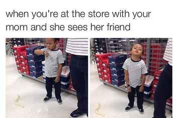17 Reasons Shopping With Your Mom Is The Worst Really Funny Memes Crazy Funny Memes Funny Quotes