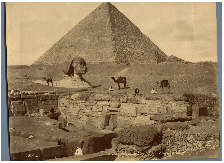 Arnoux Egypte Pyramide De Cheops Le Sphinx Et Le Temple De Chafra Vintage Al Egypte Le Sphinx Daguerreotype