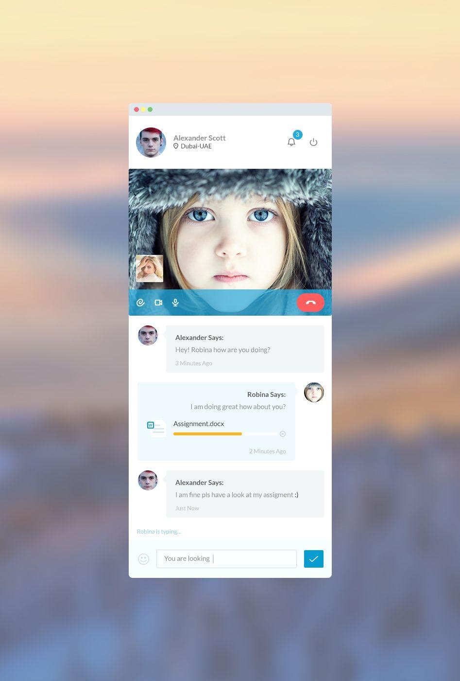 messenger.jpg by Tahir