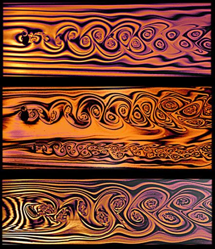 Soap films can create remarkable flow visualizations when