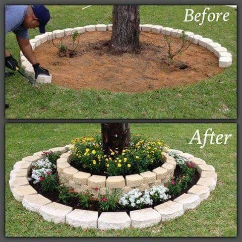 Photo of This is an adorable idea for the front yard!