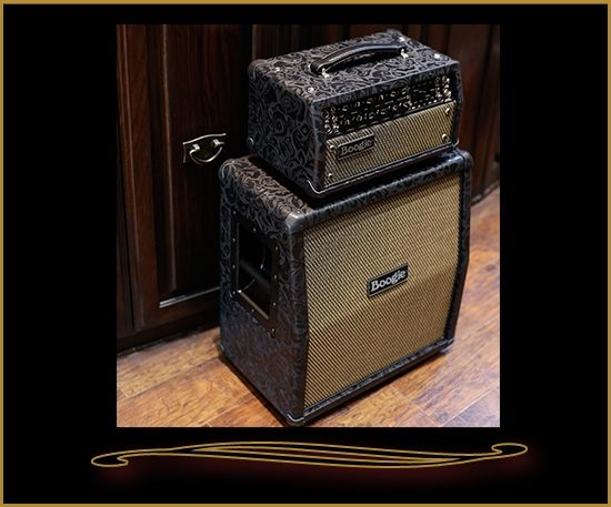 Mesa Boogie Mark Five: 25 Head And Mini Rectifier 1x12 Slant Cabinet In  Black Floral
