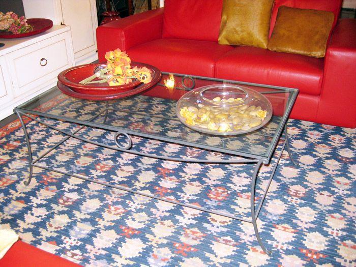 Tavolo ciacci ~ Ciacci tavolino in ferro battuto e vetro cm prezzo