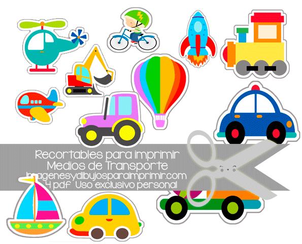 Aprender Los Medios De Transpporte Con Fichas Recortables Listas Para Imprimir En Pdf Learn Activities Kids Free Prin Kids Rugs Mario Characters Character