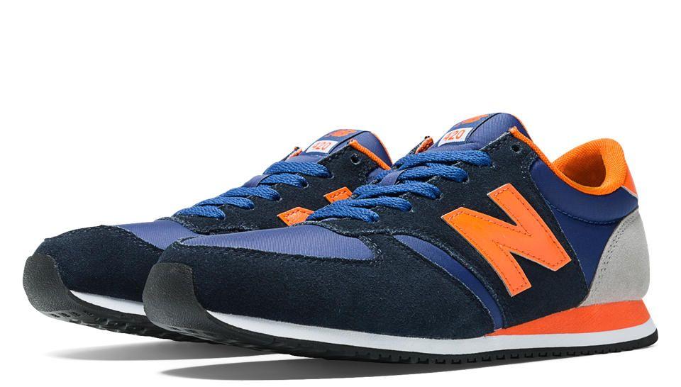 new balance 420 blue orange