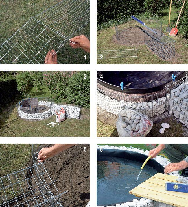 costruire un laghetto, come costruire un laghetto, come costruire ... - Come Creare Un Giardino Fai Da Te