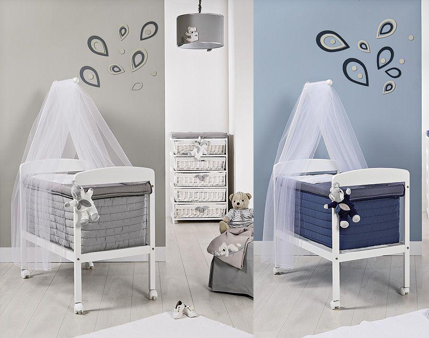 Moderner stubenwagen mit softkorb koala babyzimmer koala