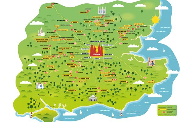 50 Best Places To Live Near London