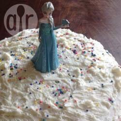 Elsa Die Eiskonigin Torte Einfach Frozen Eiskonigin Kuchen Elsa