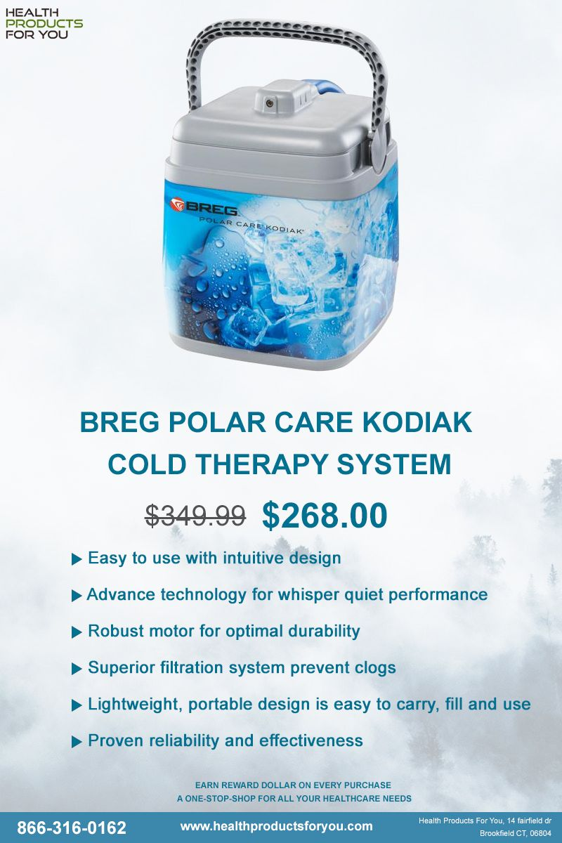 Breg Polar Care Kodiak Cold Therapy System Cold therapy