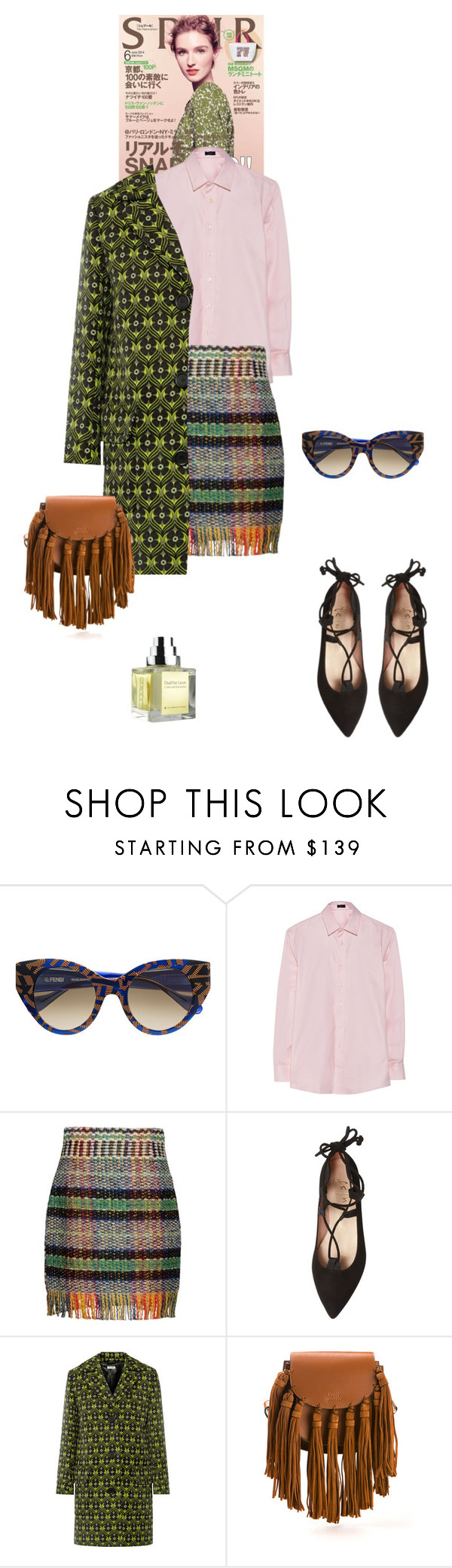 Hello, my love... by katelyn999 on Polyvore featuring Joseph, Miu Miu, Alberta Ferretti, French Sole FS/NY, Chloé, Thierry Lasry and The Different Company