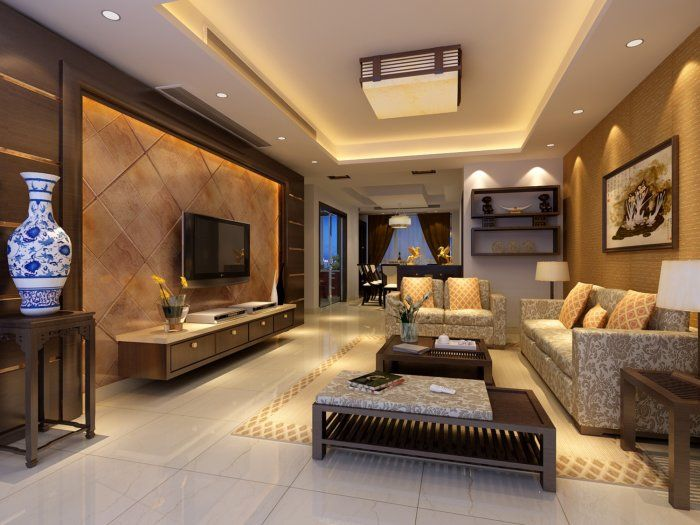 10+ Stunning Tv Unit Living Room Design