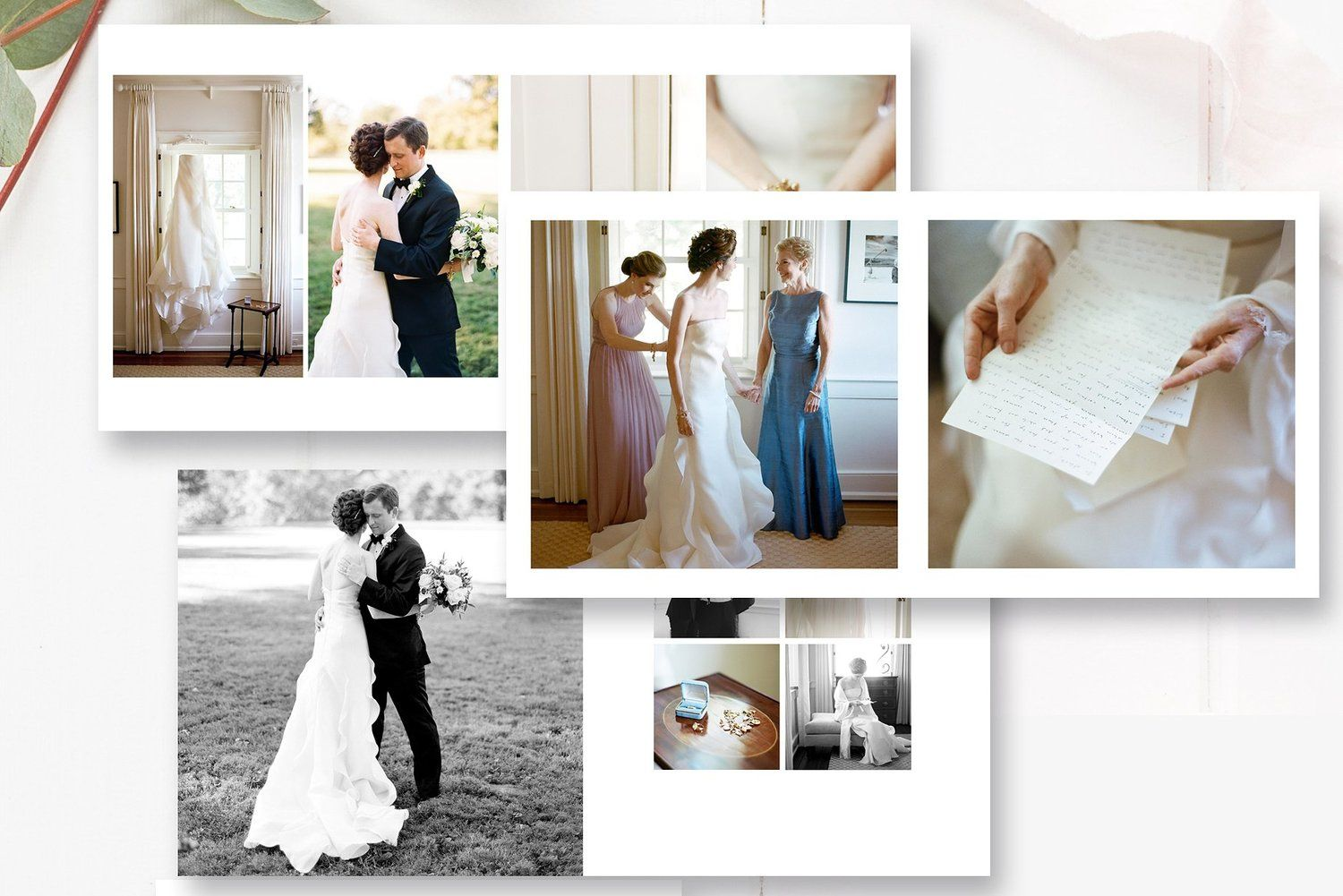 10x10 And 12x12 Wedding Photobook Template By Stephanie Design Wedding Album Templates Wedding Album Wedding Album Printing